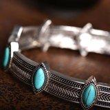 De elegante Halsband van de Nauwsluitende halsketting van de Kraag van de Stijl van Boho van de Vorm van het Oog Etnische Retro