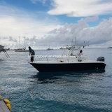 24ft 7,2 de fibra de vidrio de alta calidad de la consola central barco de pesca