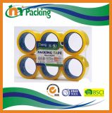 48mm BOPP selbstklebendes flaches Shrink-Verpackungs-Band