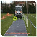 Stoßfeste HDPE Straßen-Matte/temporäres Trackway/mobiler Kran-Bodenmatte