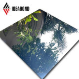 Feuilles de toit Prix par feuille haute brillance panneau composite en aluminium