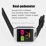 Bluetooth 4.0 (QW09)の新しい3G WiFiのスマートな腕時計