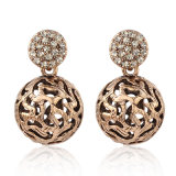 Costume de style rétro Gold Mode bijoux Ball Earrings