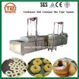 Machine automatique de l'écrou de friture/convoyeur à courroie continue de l'écrou système Fryer