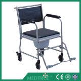 Silla de rueda de aluminio de la cómoda plegable barato médica caliente aprobada de la venta de CE/ISO (MT05030061)