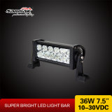 "7.5 "" Offroad를 위한 36W High Lumen Auto LED Light Bar"