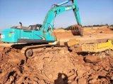 Esteira rolante hidráulica máquina escavadora usada Kobelco SK 350-8 para a venda
