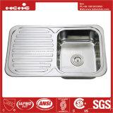 Conseil de vidange évier en acier inoxydable, évier de cuisine, acier inoxydable pour montage supérieur de la cuvette unique évier de cuisine avec le Conseil de vidange