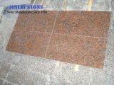 フロアーリングのための自然な花こう岩の石の中国のタイルの舗装用タイルのかえでの赤い花こう岩(G562) (JLAD 129)