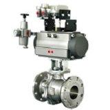 Las válvulas de bola personalizada con actuador neumático