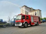 Het Water van Ftr van Isuzu en de Vrachtwagen van de Brandbestrijding van het Schuim, De Tank van het Water van de Lading 6m3 en 2m3 de Tank van het Schuim