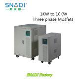 1KW-10kw 48VDC Trifásico de baixa frequência da onda senoidal pura Inversor Solar
