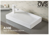 Beste Kunst-Bassin-Oberseite-Bassin-Badezimmer-Schrank-gesundheitliche Waren