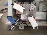 Ventana de aluminio Puerta 4 jefes de la esquina de CNC Máquina engastado