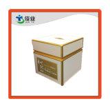 Alisar la superficie de impresión de oro Caja de cartón de cosméticos de alta calidad