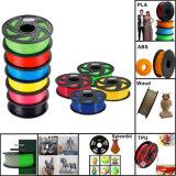 ABS/PLA 1,75mm/3mm impresora 3D de filamentos de plástico con la máxima calidad