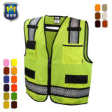 Het openlijke Vest van het Werk van de Veiligheid Vis van de Communautaire Steun hallo