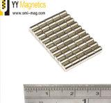Редкоземельные Strong NdFeB металлокерамические в форме диска N52 магниты