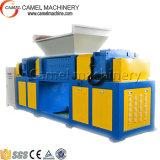 De dubbele Ontvezelmachine van de Schacht voor de Fles van de Plastic Film de Ontvezelmachine van het Vat/Twee Schacht
