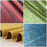 100 % polyester canapé en velours rembourrage de meubles du tissu