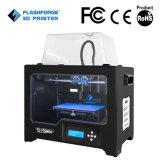 3D Printer van Flashforge, de PRO, Dubbele Extruders van de Schepper, het Jaarlijkse Volume van de Verkoop meer dan 10, 000 PCs