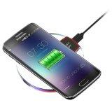 Crystal cargador inalámbrico K9 Fábrica mesa de alimentación de la fantasía de carga de celular Pad para Samsung iPhone Universal