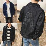 Новейшие Cool новый дизайн 100% куртка Жан для мужчин