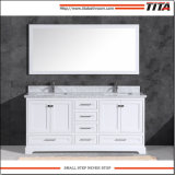 Gabinete de vanidades de baño de madera maciza T9311-24/30W.