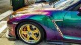كروم حرباء مسحوق لون تغيّر صبغ لأنّ سيّارة طلية