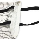 Segeltuchtote-Schulter-Beutel-stilvolles Einkaufen-beiläufiger Foldaway Arbeitsweg-Beutel