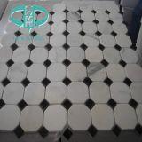 Bianco белого каррарского мрамора мозаика для плитки/Стены оболочка/пол мозаики