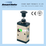 R Serie Tipo mano de la válvula rotativa neumática