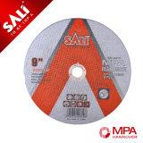 MPa утверждения истирательное отрезока колесо, режа истирательный диск