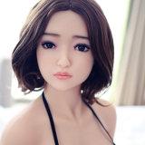 Giocattolo adulto del sesso della bambola di amore del sesso del silicone solido realistico giapponese della bambola per gli uomini
