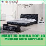 Base enorme de couro moderna para a mobília do quarto