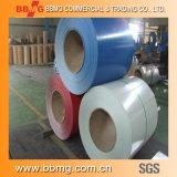 Chino barato PPGI bobinas de acero los materiales de construcción China Proveedor de PPGI con laminado en frío/caliente bobinas de acero recubierto de color
