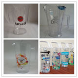 2017 Hot Sales Plastic Empilhável Cerveja e Cocktail Pitcher and Jug