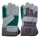 Отрежьте упорных кожаный работников безопасности работая перчатки