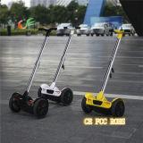 ライト級選手2の車輪の子供のための永続的なスクーターの調節可能なハンドル棒電気スクーター