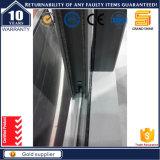 Окно Windproof дома алюминиевое стеклянное сползая
