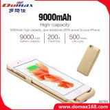 côté portatif d'alimentation par batterie de clip de dos de mobile de 9000 heures-milliampère pour l'iPhone 6s plus