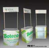 Compteur de publicité pliable de stand de Tableau d'étalage de promotion pour le supermarché (PM-02-1)