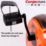 Plegable bicicleta estática magnética, magnética entrenador de bicicletas, uso del hogar Bicicleta Magnética Elíptica cubierta