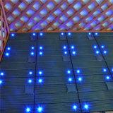 Telhas de assoalho leves solares interiores da plataforma do projeto WPC da forma da decoração