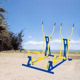 El caminante de esquí de bonito diseño profesional de equipos de gimnasia al aire libre