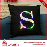 Ammortizzatore chiaro decorativo di vendita caldo del cuscino di manovella della stampa LED delle lettere della Camera