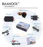 Baanool 차량 GPS 추적자 Tk103A 차 GSM GPS GPRS 추적자 장치 차 Anti-Theft 안전 도난 경보기 시스템 자유로운 웹 플래트홈