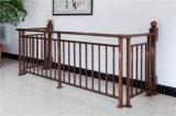 Hochwertiges dekoratives galvanisiertes Stahlaluminiumlegierung-Balkon-Geländer