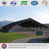 Sinoacme Pórtico de acero prefabricados del centro de deportes de la construcción de galpón