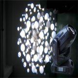 1つのLED移動ヘッドライトに付きほとんどの普及した280W 10rのビーム点の洗浄3つ